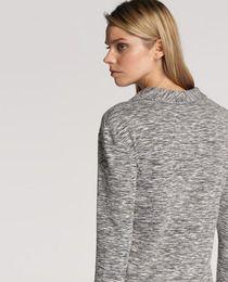 Chaqueta de mujer Yerse en gris jaspeado