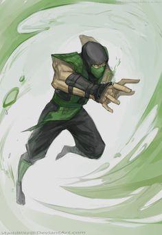 Reptile Mortal Kombat X