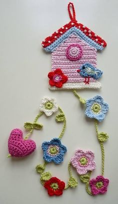 cute crochet applique for baby blanket Appliques Au Crochet, Crochet Motif, Crochet Designs, Crochet Stitches, Knit Crochet, Crochet Patterns, Crochet Home, Crochet Crafts, Yarn Crafts