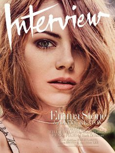 Emma Stone Gushes Over Andrew Garfield in Interview  Emma Stone, Interview Magazine