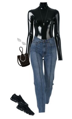 """""""Untitled #485"""" by zeroinspo on Polyvore featuring A.F. Vandevorst, NIKE, Tiffany & Co., Alexander Wang and Chanel"""