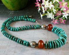 AFRICAN CHUNKY BEADED BRACELETS | Chunky Beaded - African Amber - American Turquoise - Ethnic Jewelry ...
