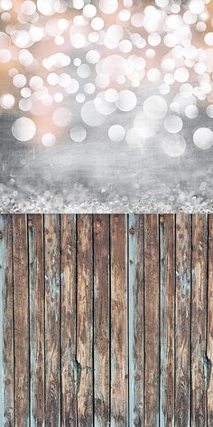 Bokeh and Old Wood Backdrop
