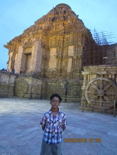 Sun Temple ~ The Black Pagoda , ONE of the Wonder of the World  ( At ~ Konark , Odisha , INDIA )