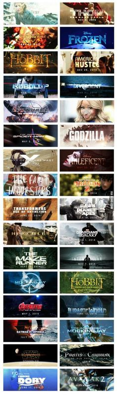 Upcoming great movies till 2016. malificent, finding dory, Frozen... Oh my!!!!