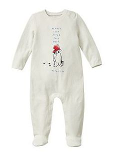 Paddington Bear™ for babyGap graphic footed one-piece | Gap
