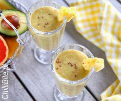 ChilliBite.pl - motywuje do gotowania!: Koktajl ananasowy - oczyszczający