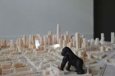3D SOMA SF with king kong