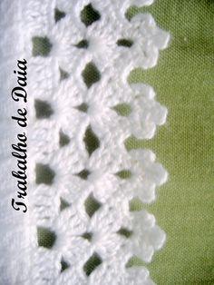 Crochet Edging Tutorial, Crochet Edging Patterns, Crochet Borders, Crochet Lace, Crochet Circles, Tatting, Embroidery, Crafts, Crochet Dishcloths