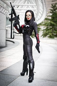 Baroness - sexiest female cartoon character ever. She made intelligence hot. Love her glasses.