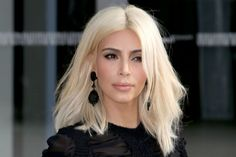 Kim Kardashian Admits Platinum Blonde Damaged Her Hair ...