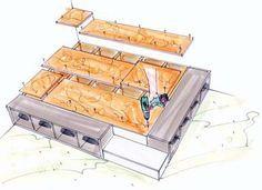 Podest selber bauen - Bauanleitung mit Bildern