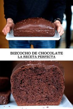 Chocolate cake, the perfect recipe (and all the secrets for mellowness) Chocolate Sponge Cake, Chocolate Coffee, Fondant Cakes, Cupcake Cakes, Cupcakes, Sweet Recipes, Cake Recipes, Dessert Recipes, Plum Cake