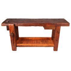 Work Bench with Bottom Shelf -  Fance 1880