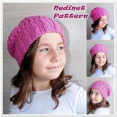 Crochet slouchy hat pattern   Craftsy