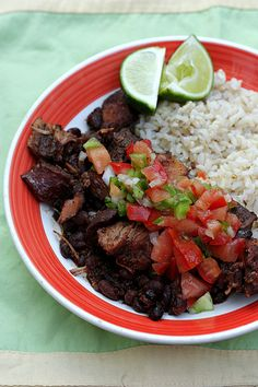 Slow Cooker Brazilian Black Bean and Pork Stew