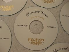 Simple DIY CD Labels Without Photoshop! - Now I can make my CDs for people look more professional with my photography name on them Wedding Cd, Wedding Favors, Photography Packaging, Photography Business, Simple Diy, Easy Diy, Cd Diy, Cd Labels, Diy Craft Projects