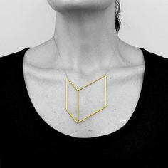 Rectangle Square Necklace - Adorn Milk exclusive \ Myers Collective