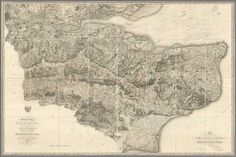 David Rumsey Historical Map Collection | Four Early Maps of the British Ordnance Survey, Two of Kent, and One Each of Devon and Dorset, 1801 to 1811.