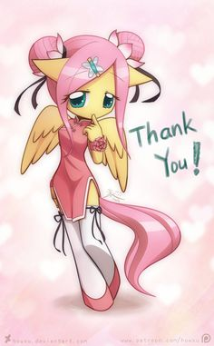 Weekly art#37 Thank You by HowXu on DeviantArt