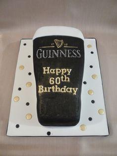 Pint of Guinness Cake