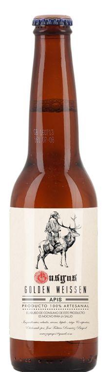 label design for a craft beer brand