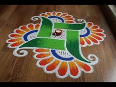 Rangoli designs are an integral part of the Indian culture and is a must in every indian festival. The purpose of rangoli is decoration, and it is thought to. Rangoli Designs Simple Diwali, Happy Diwali Rangoli, Best Rangoli Design, Rangoli Simple, Indian Rangoli Designs, Rangoli Designs Latest, Rangoli Designs Flower, Free Hand Rangoli Design, Rangoli Border Designs