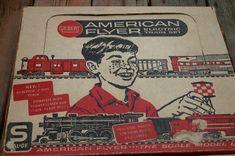 Gilbert American Flyer S gauge Vintage Train Set #20763