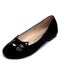 $15.99 (Buy here: https://alitems.com/g/1e8d114494ebda23ff8b16525dc3e8/?i=5&ulp=https%3A%2F%2Fwww.aliexpress.com%2Fitem%2FKawaii-Girl-Women-2016-Flat-Shoes-Women-s-Casual-Shoes-Alpargatas-Loafers-Casual-Cartoon-Soft-Shoes%2F32714198817.html ) Kawaii Girl Women 2016 Flat Shoes Women's Casual Shoes Alpargatas Loafers Casual Cartoon Soft Shoes  large size 35-41 for just $15.99