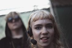 Grimes at 2012 Pitchfork Music Festival by Erez Avissar