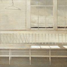 Andrew Wyeth: Looking Out, Looking In Moins la peinture comporte de sujets humains, plus elle gagne en intensité...