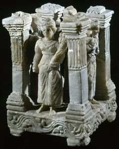 Photograph of Mesopotamian  sin datos [four columns of the Firmament]