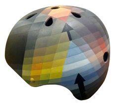 Paul Klee painting on a helmet by Belle Helmets