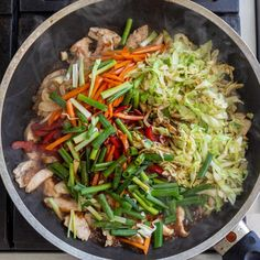 Simple Yakisoba Noodles Recipe - Momsdish Yakisoba Noodles Recipe, Japanese Noodle Dish, Beef Lo Mein Recipe, Stir Fry Wok, Small Cabbage, One Pot Dinners, Asian Recipes, Ethnic Recipes, Chinese Recipes