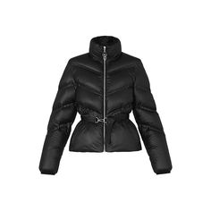 Belted Down Jacket With V-Shaped Stitching  in Women's Ready to Wear Jackets and Coats collections by Louis Vuitton