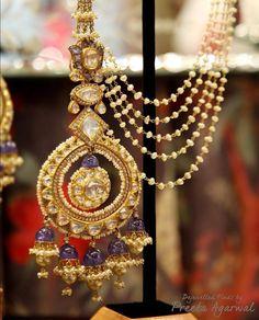 Bali Jewelry, Indian Jewelry Sets, India Jewelry, Wedding Jewelry, Jewelry Trends 2018, Traditional Indian Jewellery, Jewelry Design Earrings, Hoop Earrings, Bridal Accessories