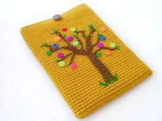 Pretty crochet tree