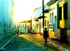 Entardecer em Penedo, Alagoas, Brasil.