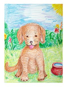 """Do animals have feelings? Read about famous animals who have displayed human like emotions. Create expressive """"pet portraits"""" that show pets in a favorite environment. Do Animals Have Feelings, Animals For Kids, Animal Projects, Art Projects, Square 1 Art, Elementary Art Lesson Plans, African American Leaders, Visual Art Lessons, Drawing Lessons"""