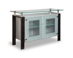 Glass modern buffet