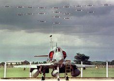 Ademas del A4AR, miren la cantidad pocas veces vista de Pucaras en vuelo!!!! Besides the A4AR, look at the uncommon quantity of Pucaras in flying!!!!!