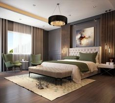 Luxury bedroom master - What You Should Do to Find Out About Luxurious Bedrooms Before You're Left Behind Modern Master Bedroom, Wood Bedroom, Master Bedroom Design, Trendy Bedroom, Contemporary Bedroom, Bedroom Furniture, Bedroom Decor, Bedroom Ideas, Bedroom Lighting