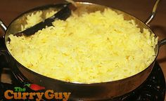 CINNAMON, COCONUT & SAFFRON RICE