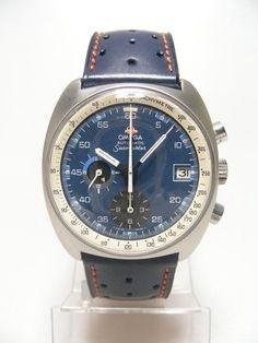 Seamaster Chronographe Vintage GMT 176-007 cadran