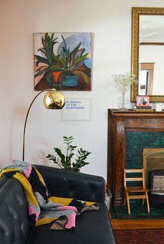 A Painter and Coffee-Lover's Kansas City Shirtwaist | Design*Sponge