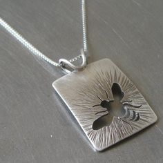 Bee necklace #bee #necklace