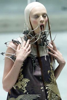 Alexander McQueen's Spring/Summer 2001 collection