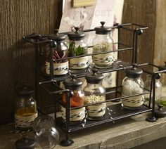 Love these spice jars from Pottery Barn.