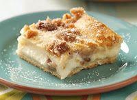 Sweet Cheese Crescent Roll Dessert