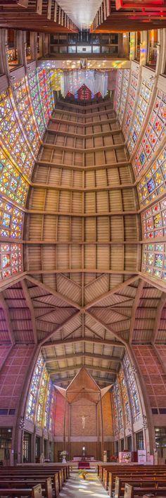 Panoramas verticaux dintérieurs déglises par Richard Silver  2Tout2Rien